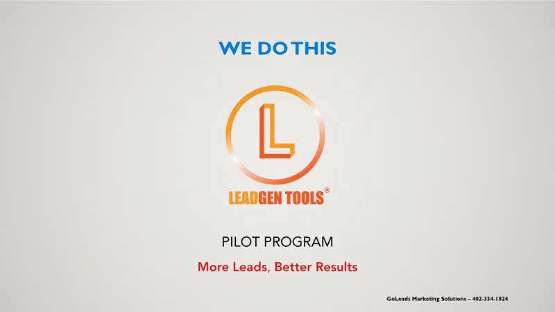 Facebook Lead Ads for B2B Lead Generation; Lead Generation Program