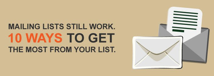 10 Ways to Get The Most From Your Mailing List - LeadGen Compass